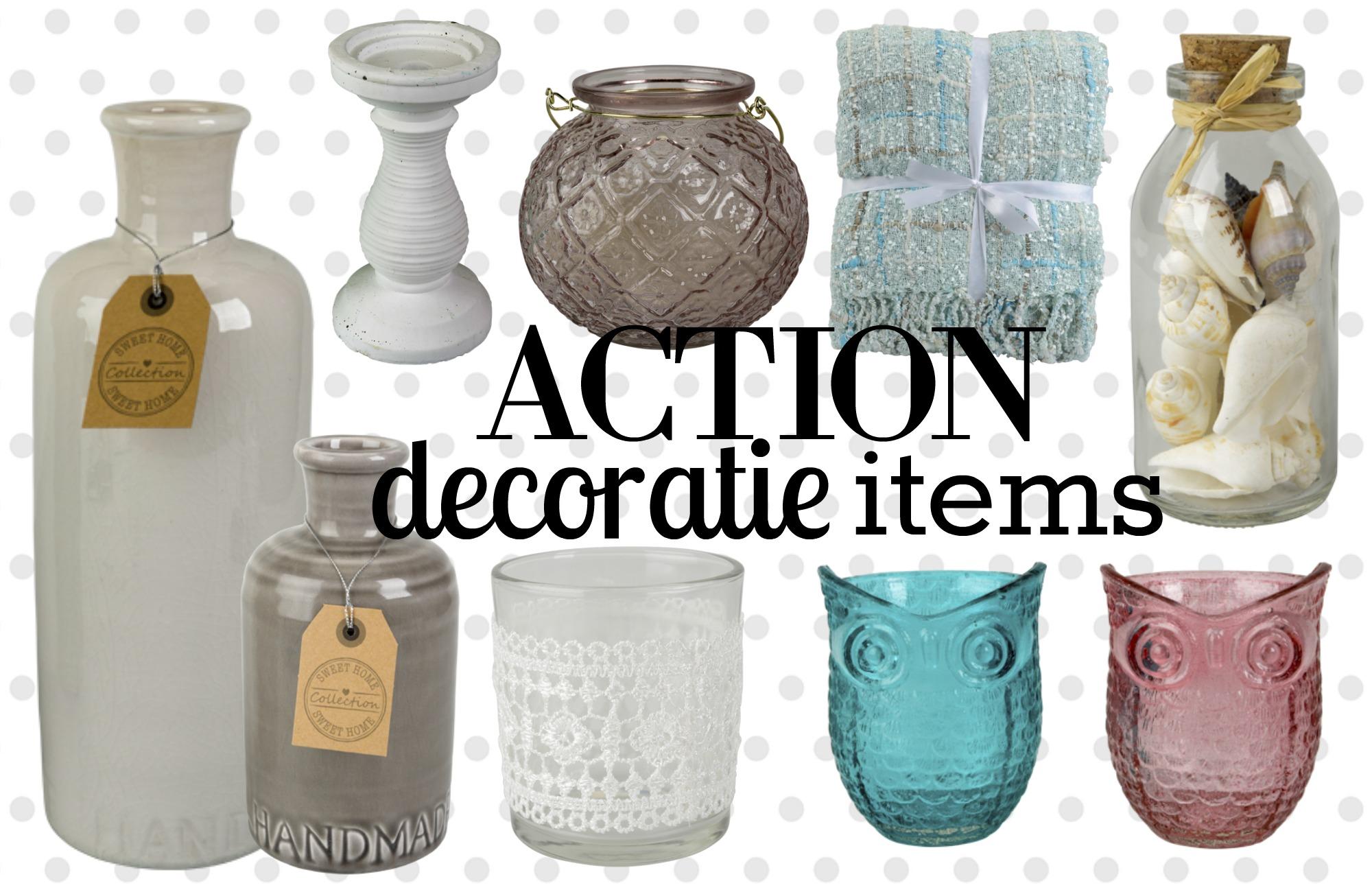 Decoratie items van de 100 nieuwste van de action for Decoratie spullen