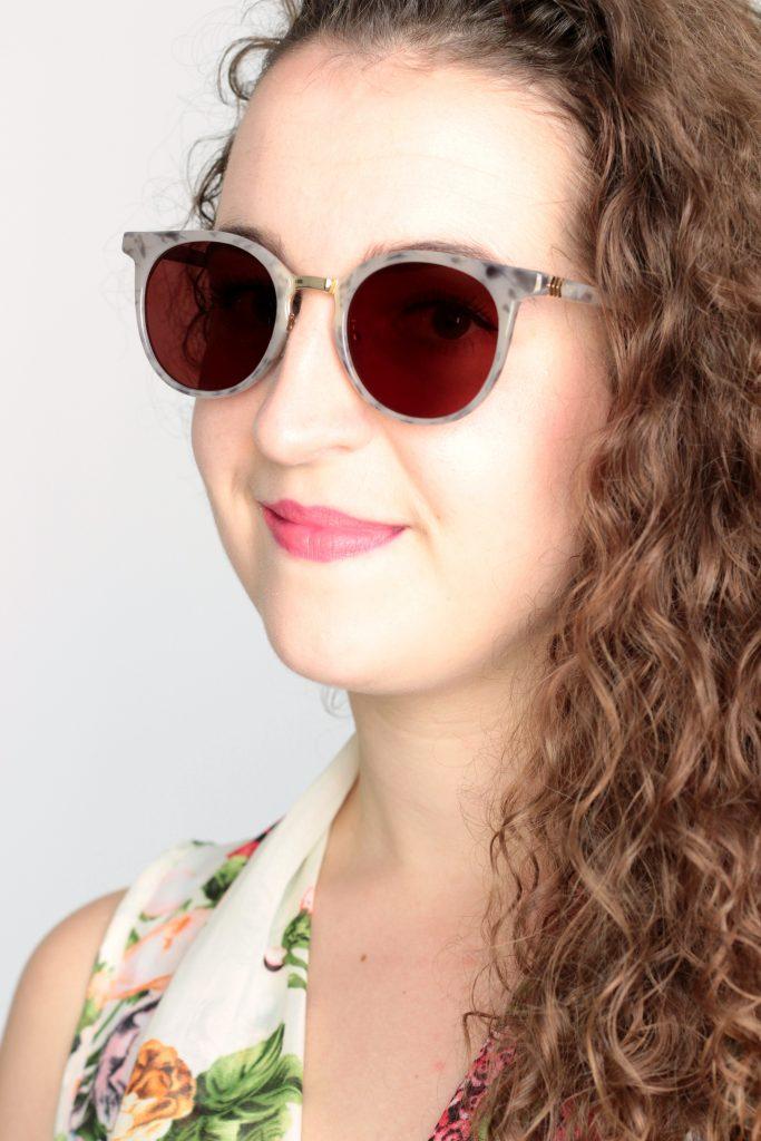 zonnebril selfie