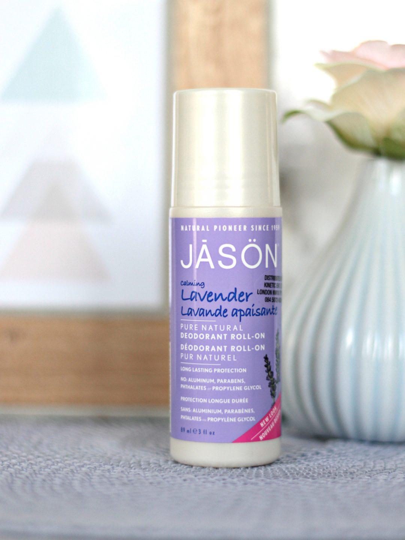 JĀSÖN Natural Roll On Deodorant Lavendel