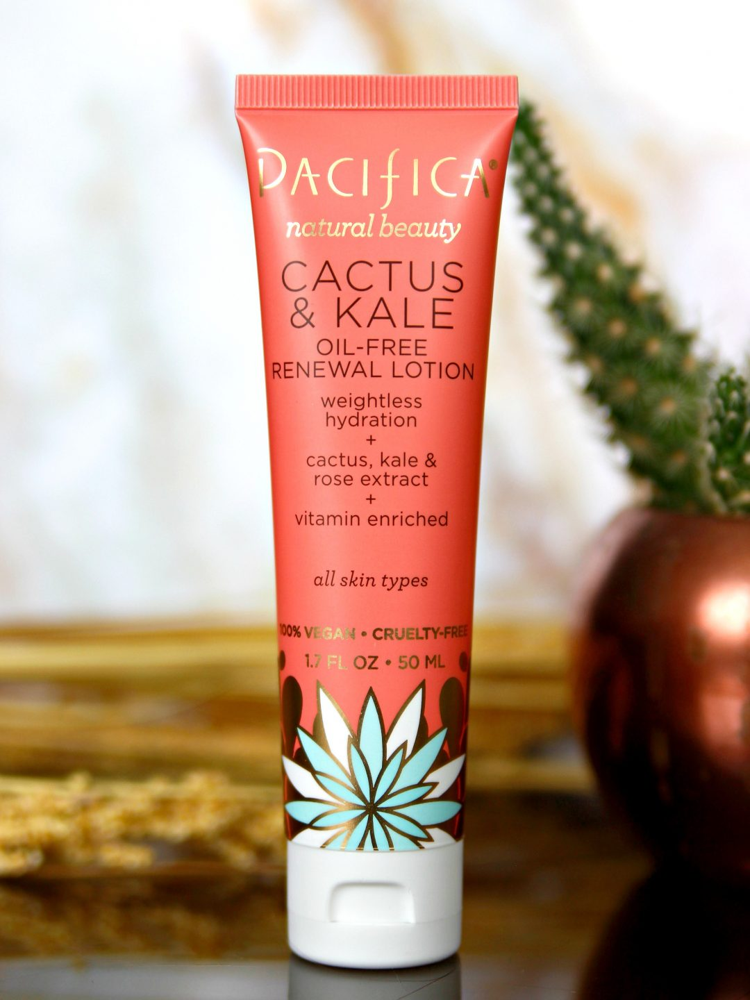 Pacifica Cactus & Kale Oil Free Stress Recovery Lotion