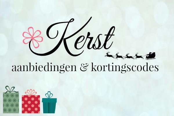 kerst kortingscodes