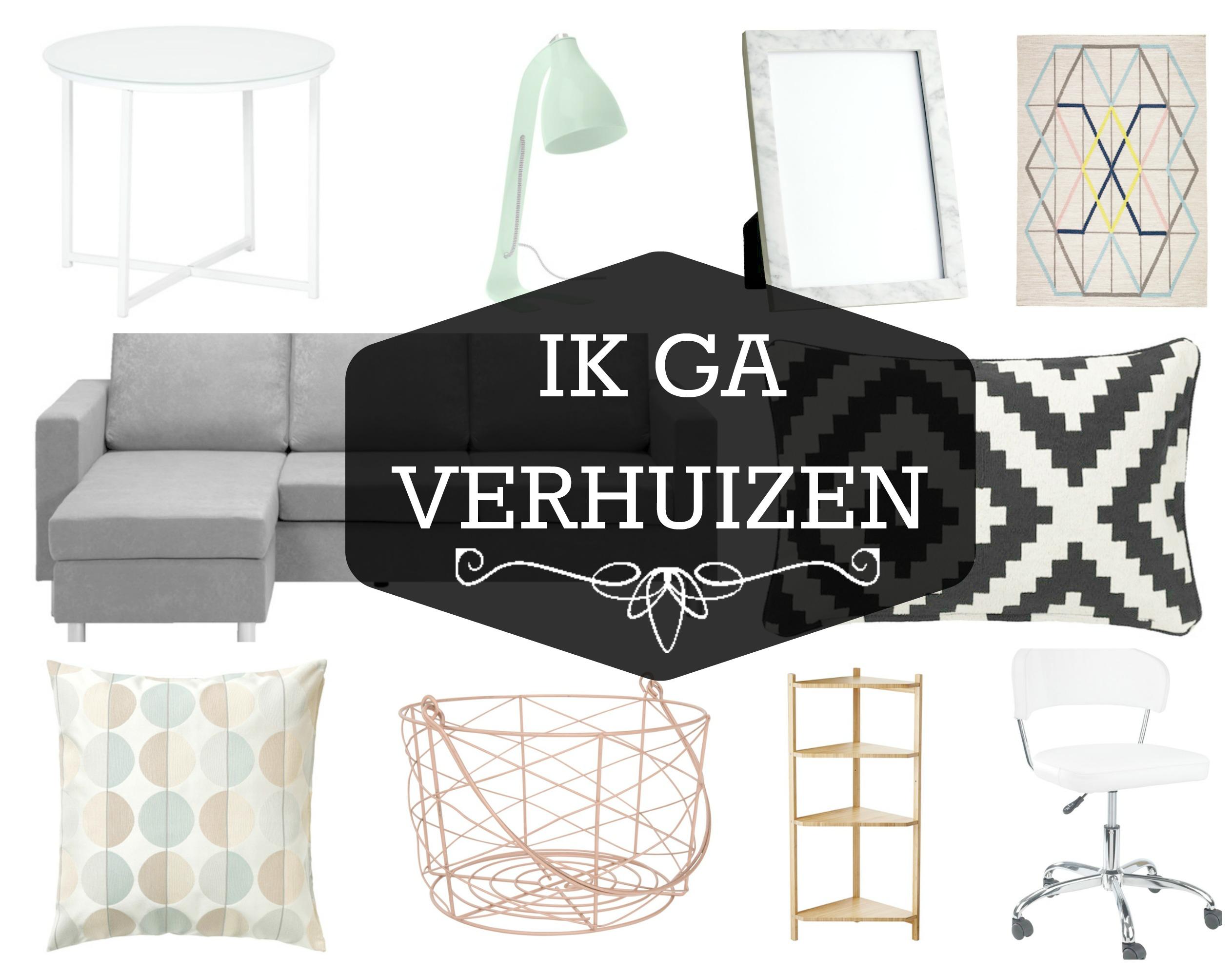 Verwonderend Ik ga verhuizen - mevrouwmiauw.nl CB-59