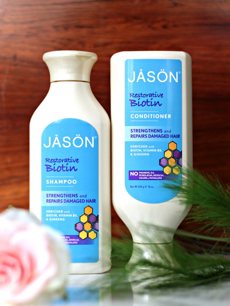 JĀSÖN Organic Biotin Shampoo & Conditioner