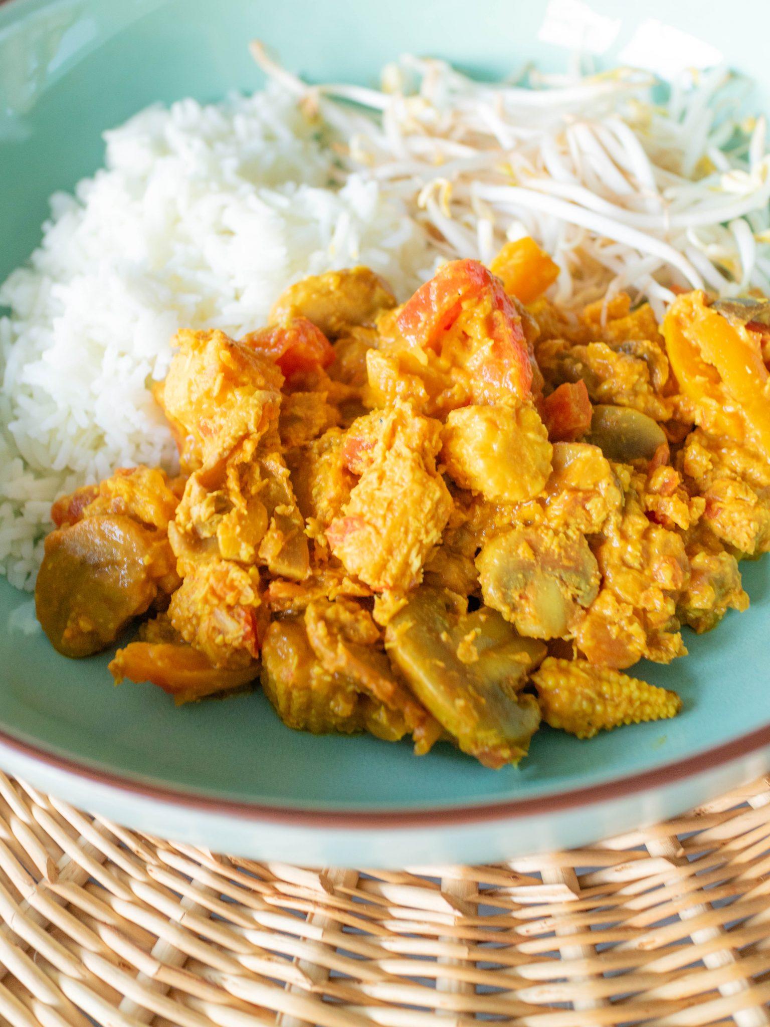 niet pittige curry