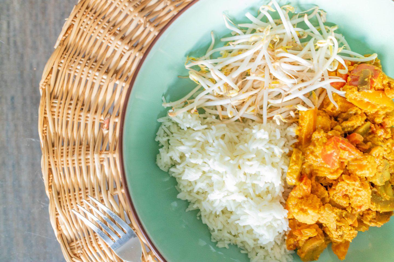 Niet pittige curry | Vegan en veel groenten